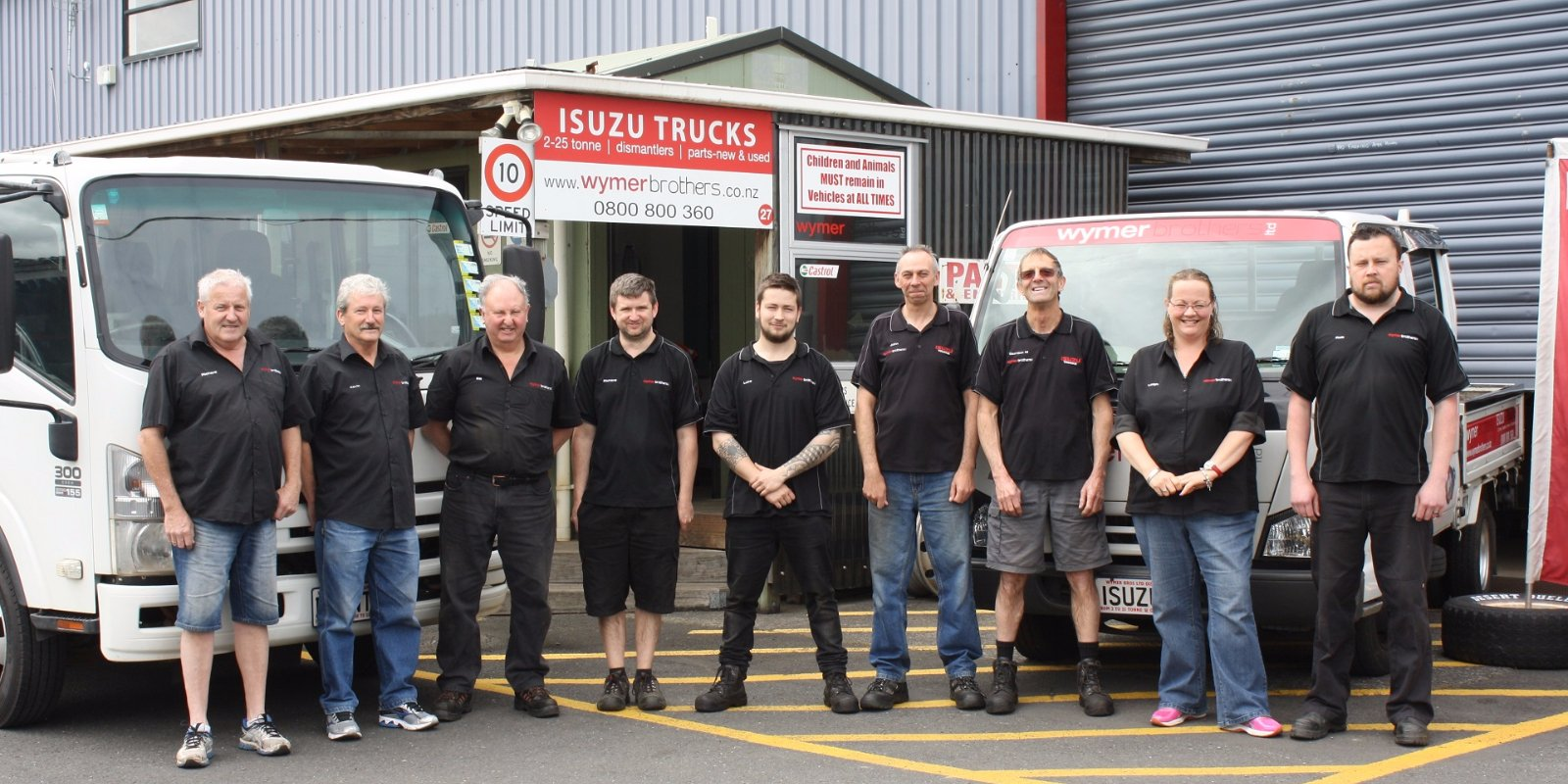 Wymer Brothers - Meet The Team